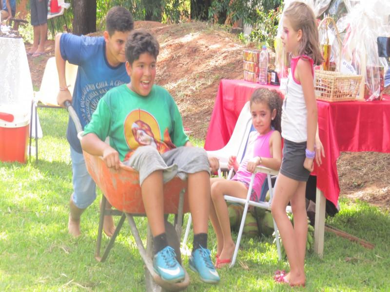 1ª Gincana das Comunidades é realizada na Festa de Cristo Rei